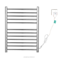 Wall mounted Curved style Electric towel radiator /towel rack bathroom heater