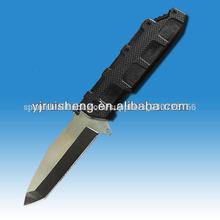 de alta calidad 420 cuchillo de acero inoxidable con mango g10