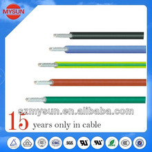 Low voltage PVC insulated ul 1007 electric wire 22awg