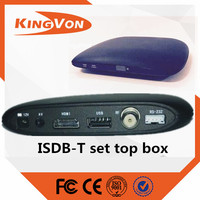 isdb-t tv receiver free to air used for digital tv set top box suitable for Philippines and Brazil market