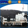 2014 most popular hot sale mobile jaw crusher