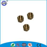 3/8 inch brass compression cap stop valve cap
