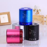 High Quality Sound support TF and USB 2015 hot sale Portable mini speaker T-2020