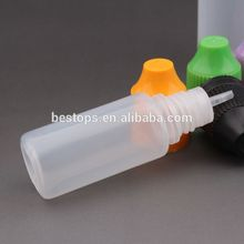 alibaba china childproof cap 10ml e liquid bottle with dropper tip and white top for e- liquid