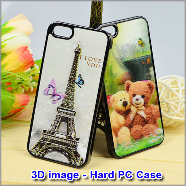 competitive factory supply popular 3D flash case for iphone 5 Case for various mobile phone