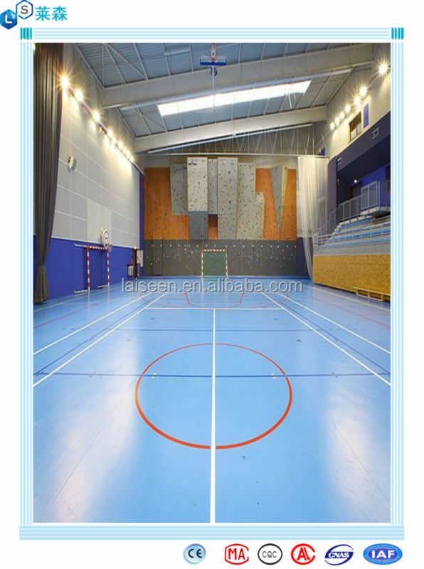 Plastic indoor basketball flooring basketball court for Average cost of a basketball court