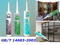 Glass Sealant, colored silicone sealant, Acetic cure