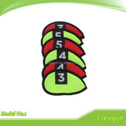 Green and Red color Neoprene crazy golf head covers