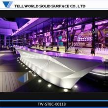 Muebles de la barra barra de contadores led de diseño, la barra comercial contadores led de diseño