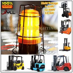 Amber led strobe beacons,forklift emergency warning lights for sale