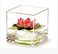 Hot sale! Acrylic fancy fish tank/small fish tank /fish tankflower vase