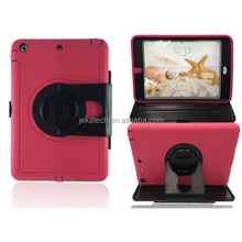 For ipad air 360 degree rotate silicone combo case