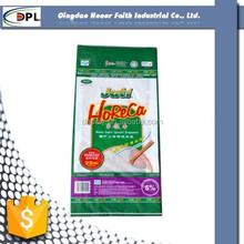 PP woven bag for packing wheat flour, PP woven flour sack, polypropylene woven bag