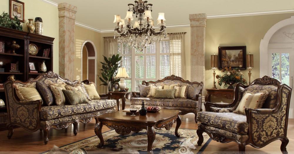 italien de luxe meubles de salon nouveau mod le en bois classique canap fixe a24 autres. Black Bedroom Furniture Sets. Home Design Ideas