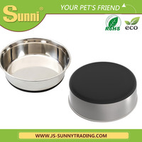 Wholesale high quality stainless steel automatic dog feeder