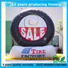 cheap giant inflatable tyre model