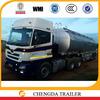 CCC WMI ISO BV Qualified 3 axles diesel tank trailer