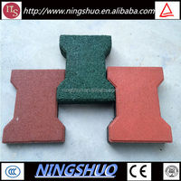 China factory anti slip cow stall rubber floor, cattle stable rubber floor