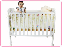 solid pine wood baby bed baby cribs