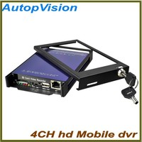 4Ch CCTV DVR/digital video recorder Bus dvr car dvr recorder