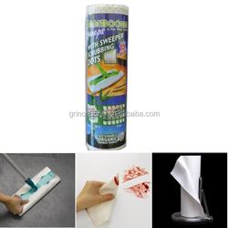 100% Bamboo fibre Towels with Scrubbing Dots 20 pcs per roll