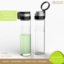 Specialized Creative Ti-Borosilicate Glass Tea Bottle With Infuser