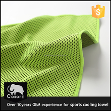 cool!!!microfiber sport cool towels with good absorb sweat