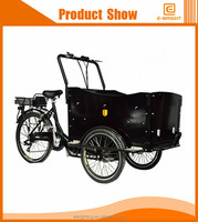 3 wheel bike electric flatbed tricycle cargo trike