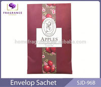 custom scent hanging paper fragrance sachet aroma fragrance air freshener