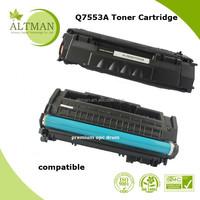 7553a toner cartridge , 53a toner used for laserjet 2010 2014 2015 2727