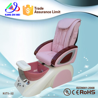 Wholesale nail supplies/whirlpool spa pedicure chair/used pedicure spa chairs KM-S171-12