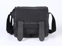 2015 New CADEN M2 Camera Leisure Shoulder Canvas Waterproof Black Bag Case for DSLR M2