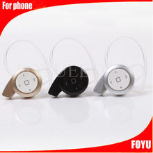wireless earphone and headphone bluetooth 4.0 headset earphones with microphone micro bluetooth headphone