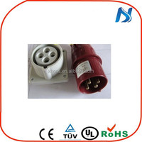 IP67 male and female waterproof industrial AC Receptacle IEC60309 plug and socket