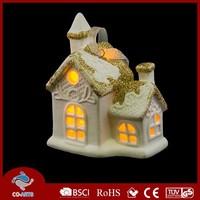China supplier led ceramic house shaped handicraft making