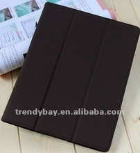 fashion leather smart cover for ipad3