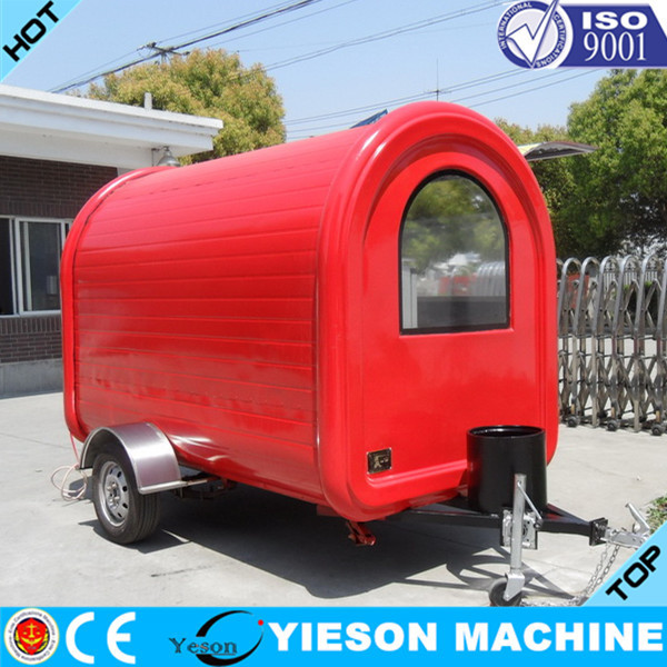 Yieson hot vente mobile cuisine alimentaire camion for Remorque cuisine mobile