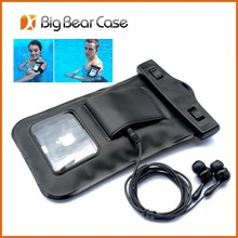 Universal waterproof phone case waterproof cell phone case for moto x