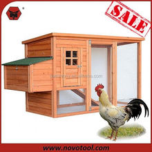 small hen house with nest box