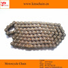 40Mn yellow plated 428 motorcycle chain