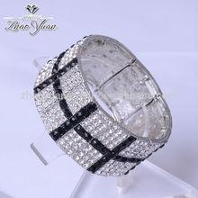2014 caliente venta nuevo estilo de la moda elástica pulsera de jade