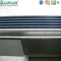 Outdoor Usage Wall Cladding Material ACP/ACM panel