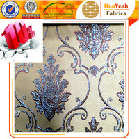 Polyester jacquard flower design spanish curtain