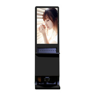 42 Inch Touch Screen Stand-alone Free Standing Charging Station With Shoe Features