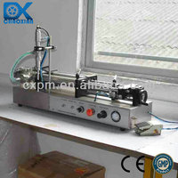 Guangzhou semi-auto lube oil filling machinery for small output