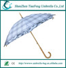 2015 Chinese rain umbrella portable hand open straight umbrella