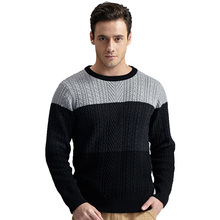 Casual Comfortable Plus Size German Knitwear Sweater Male Pullover