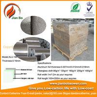 Aluminium foil fiberglass cloth,properties of building material
