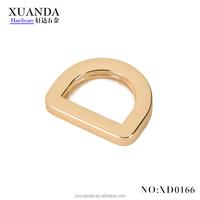 22*19mm Decorative zinc alloy D-ring buckle