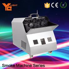 Experienced Stage Equipment Producer Remote Or Wire Control Fog Bubble Machine